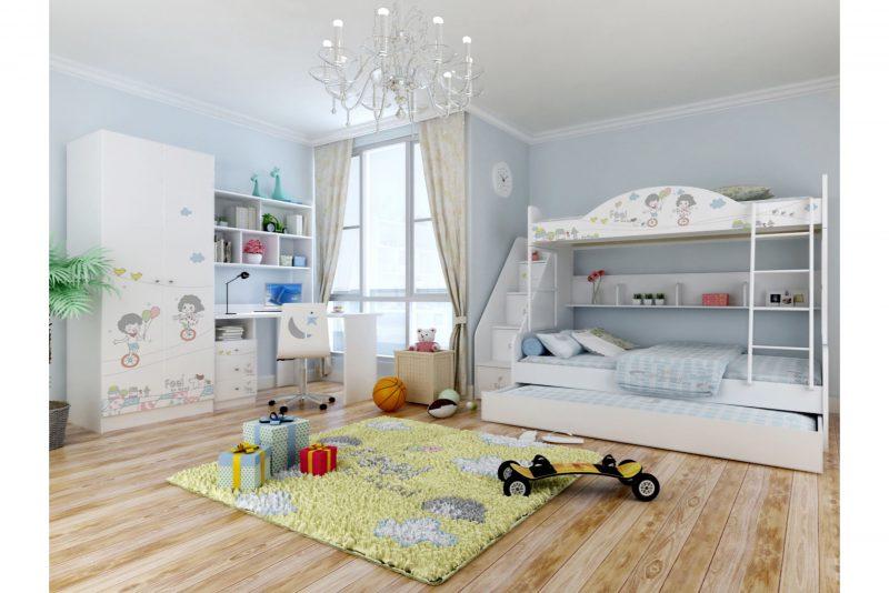 Engi barn sovrum