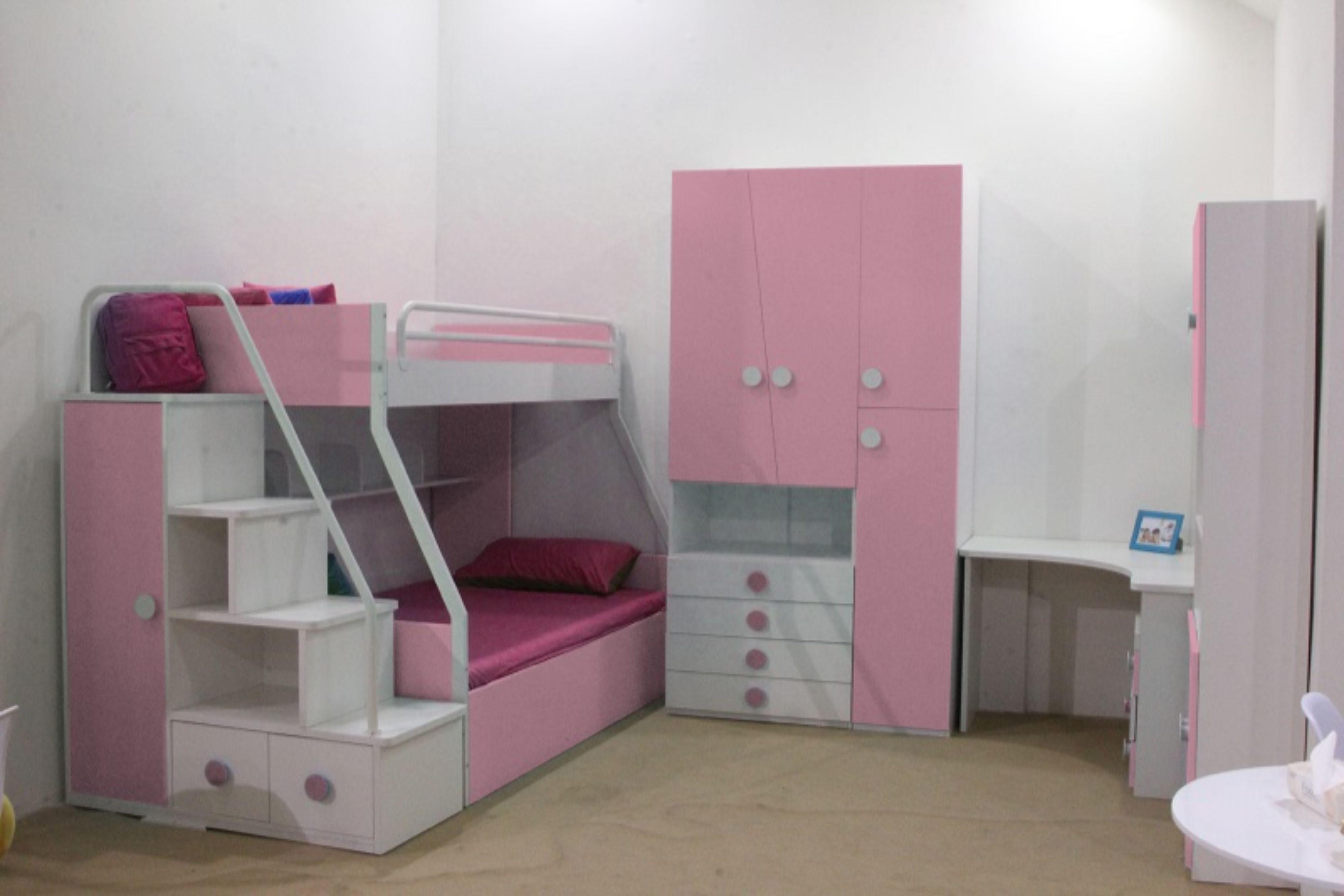 Stella sovrum, rosa FolketsMobler