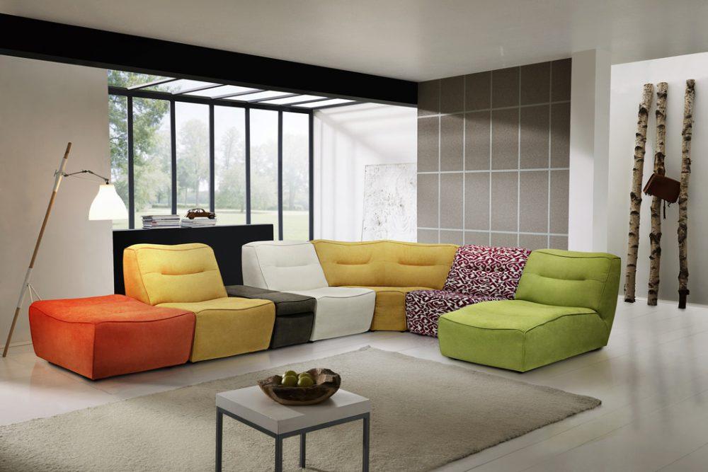 Arena moduler - Byggbar soffa - Folkets Möbler