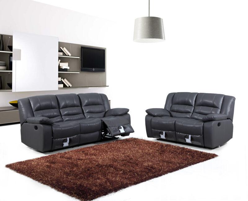 Indiana 3-sits + 2-sits - Biosoffa recliner soffgrupp
