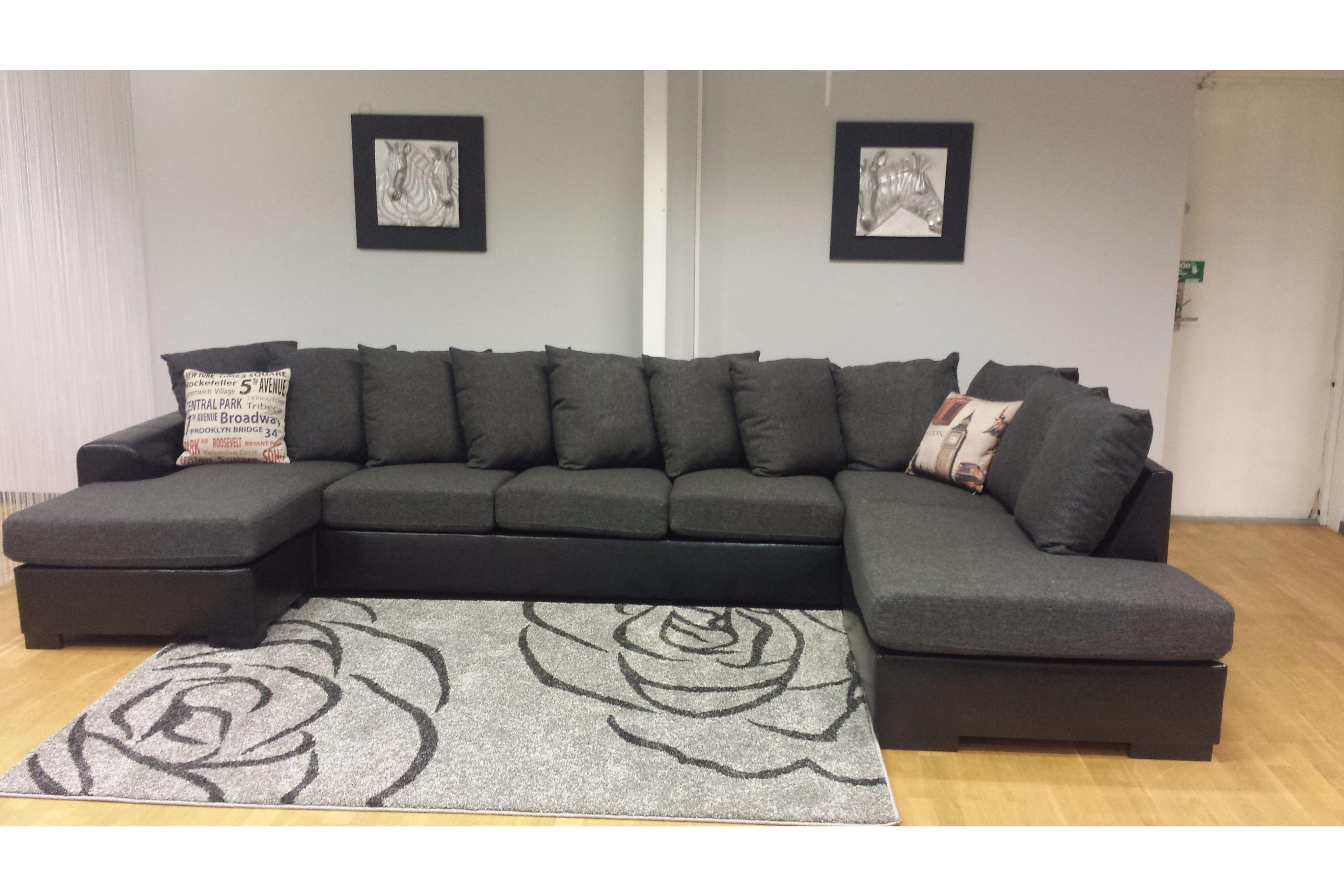 Fräscha Visby U-soffa - Folkets Möbler CK-07