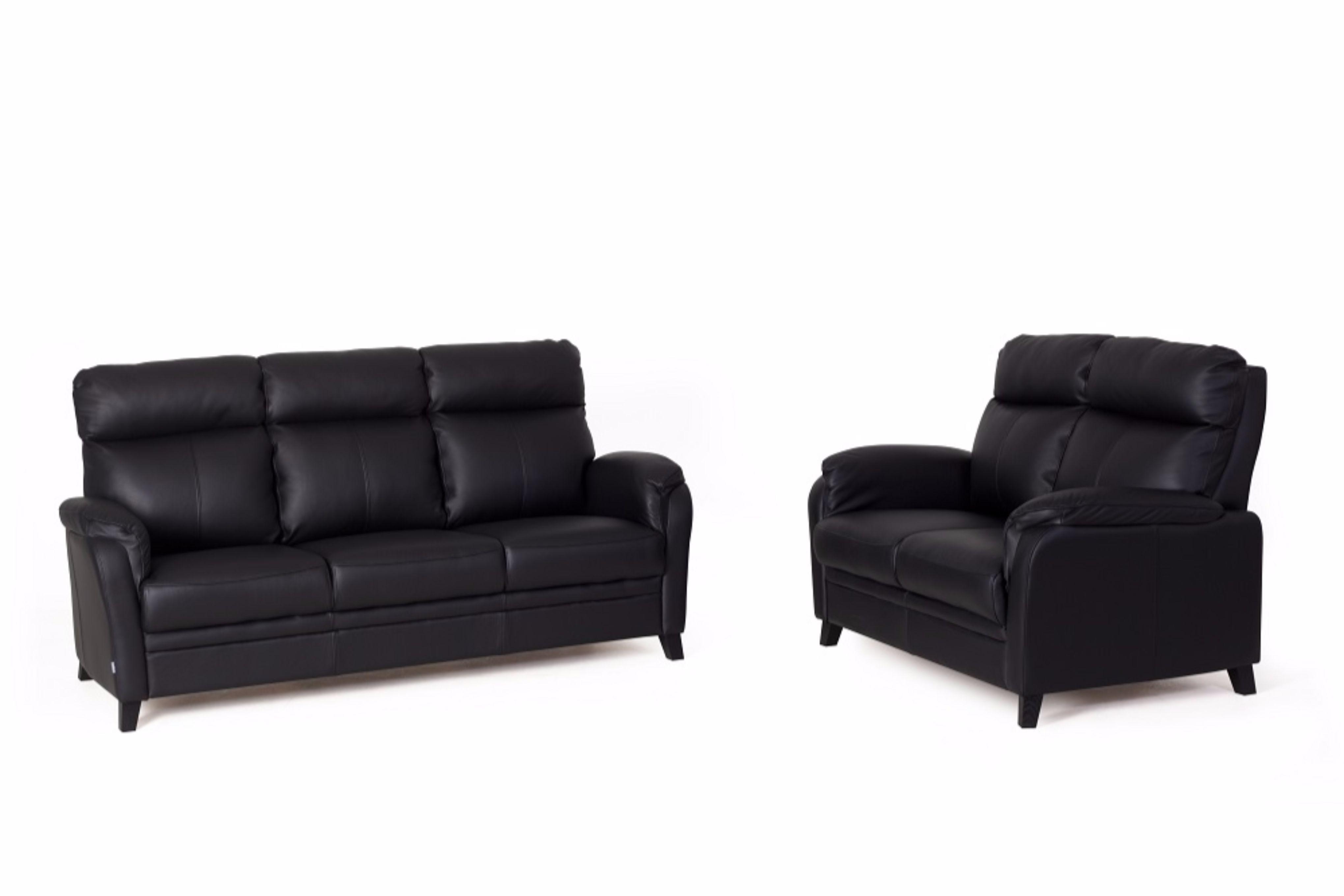Berömda Tempest soffa i skinn - Bellus - Folkets Möbler BT-37