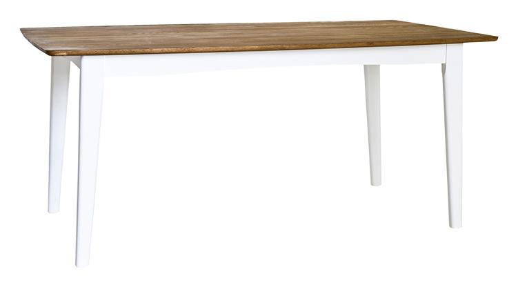 Linköping matbord - Oljad ek med vitlackat underrede - RGE
