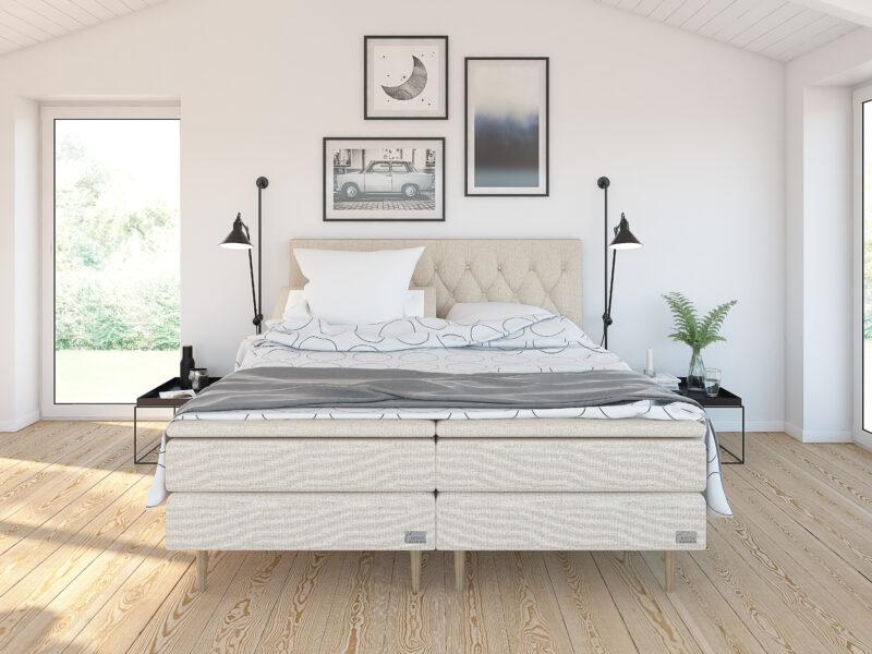 Safir ställbar säng - Beige/Sand - Kinnabädden
