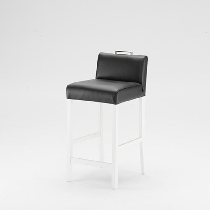 Sara barstol i träfärg: Vit - Pohjanmaan