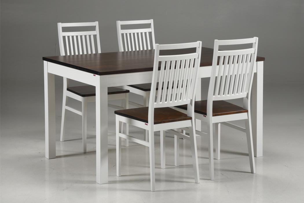 Metro kvadratiskt matbord + 8Koru stolar Pohjanmaan