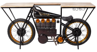 Brough- Motorcyckel Konsol _ Barbord_Rge