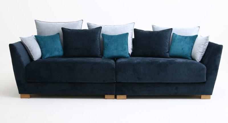 Elton - soffa- sammet- monolith-Ermatiko