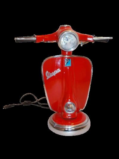 Vespa bordslampa_röd_ Rge