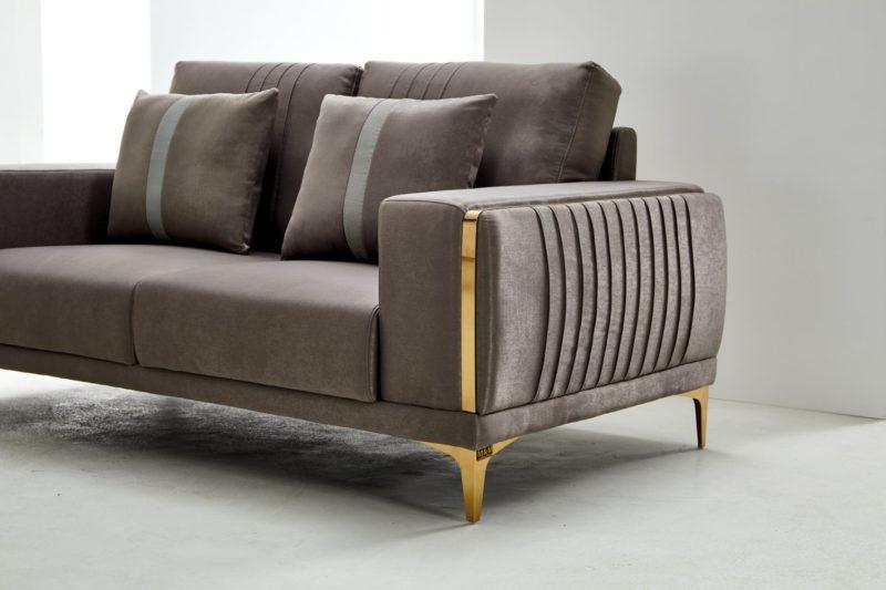 Jakie soffa i sammet - Sammetssoffa - Folkets Möbler
