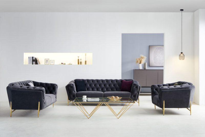 Isabella_Design_soffa_sammet_Mörkgrå