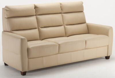Comforto 3-sits soffa i äkta skinn/läder - Pohjanmaan - Folkets Möbler