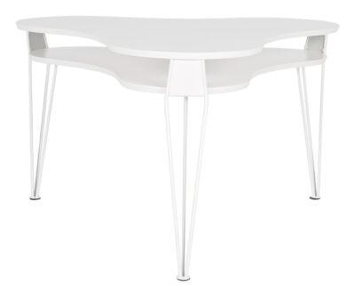 Ester soffbord treklöver - Vit - RGE