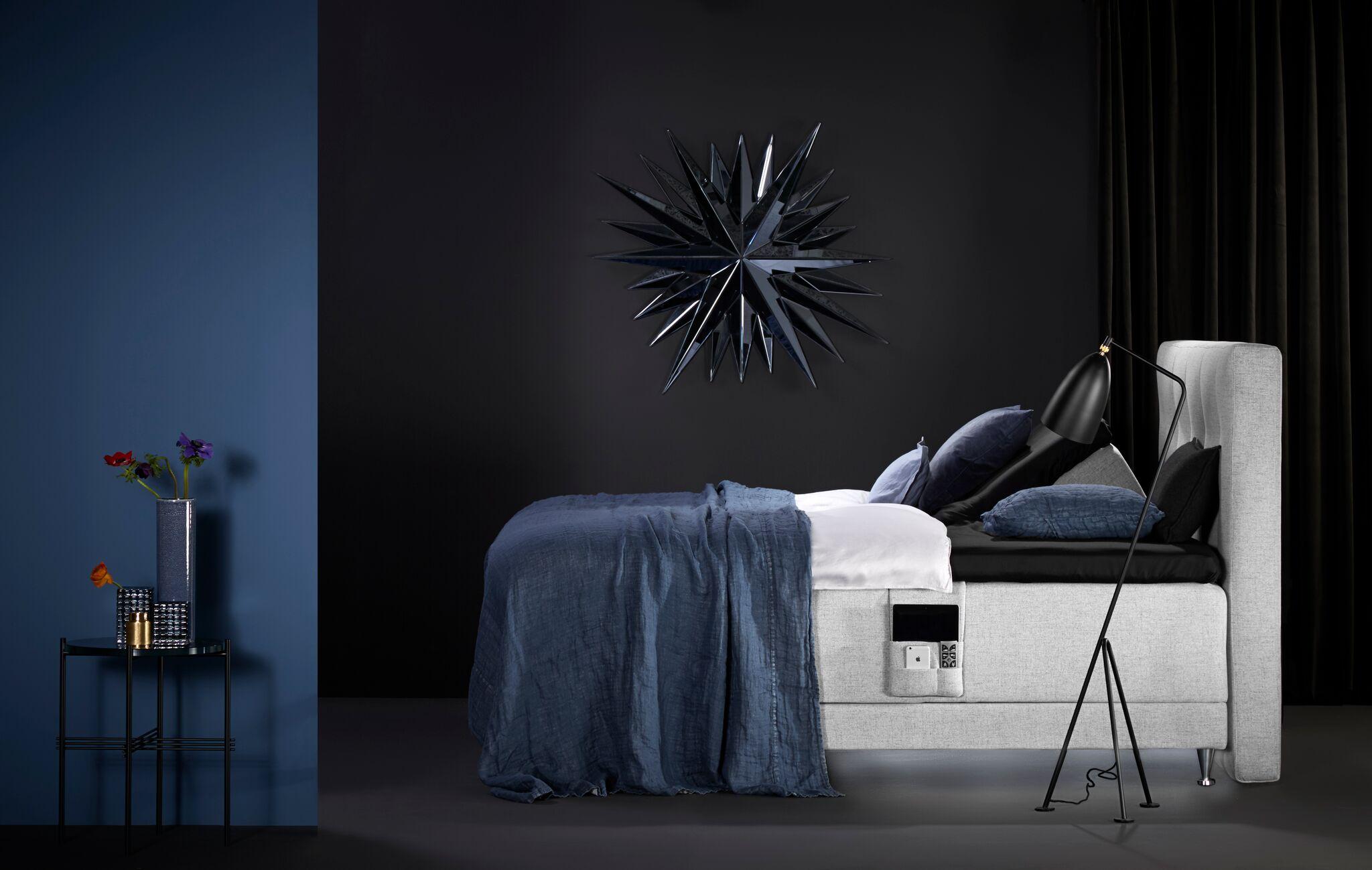 Kinnabädden - Safir ställbar säng - Folkets Möbler