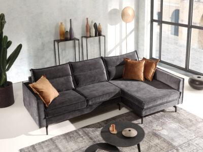 Falun soffa - Tyg: Torre 19 - Erelita
