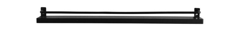 Ester tavellist - Tavelhylla 60 cm - Svart