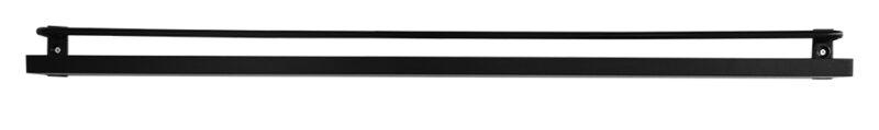 Ester tavellist - Tavelhylla 80 cm - Svart