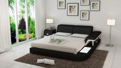 Pernilla säng - Svart
