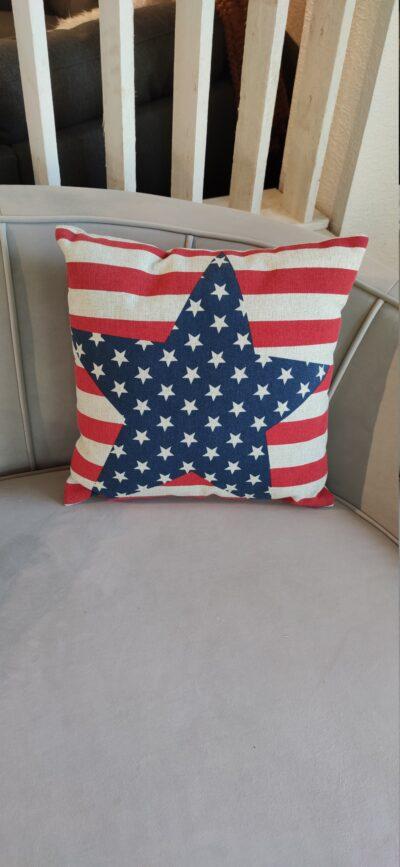 Prydnadskudde Amerikanska flagga