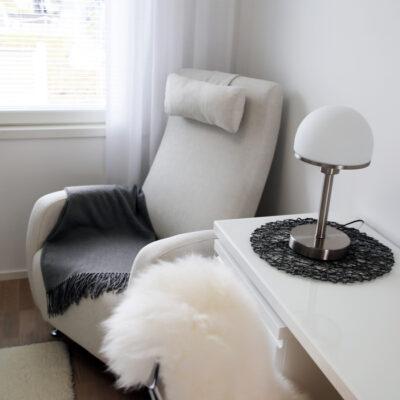 Gent reclinerfåtölj med nackkudde - Folkets Möbler