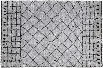 Himalaya ryamatta - Matta i rya - grå/svart - Folkets Möbler