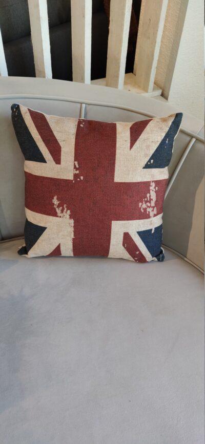 Prydnadskudde Storbritannien flagga