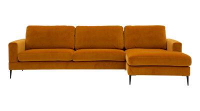 Capri 3-sits med divan - Tyg: Luxor 17 - Folkets Möbler